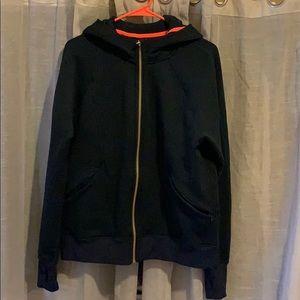 LULULEMON Navy zip up hoodie